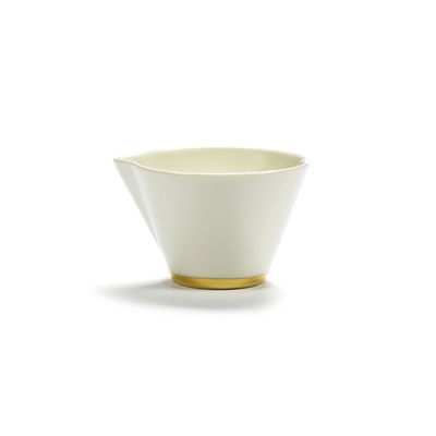 Tableware - Tea & Coffee Accessories - Désirée Milk pot by Serax - White & gold - China