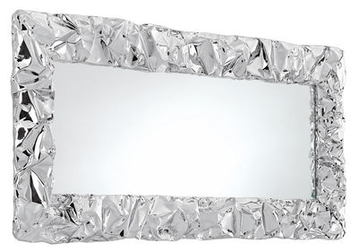 Déco - Miroirs - Miroir mural Tabu.U / 80 x 110 cm - Opinion Ciatti - Chromé - Aluminium