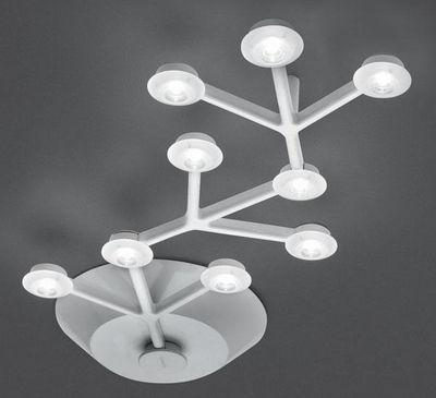 Plafonnier LED NET / Linéaire - L 66 cm - Artemide blanc en métal