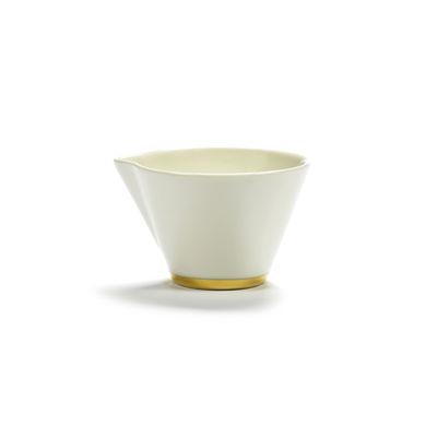 Arts de la table - Thé et café - Pot à lait Désirée - Serax - Blanc & or - Porcelaine