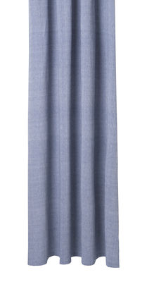 Chambray Blue Shower Curtain