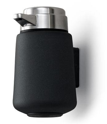 Vipp 9 Soap dispenser - Wall mounted soap dispenser Black ...