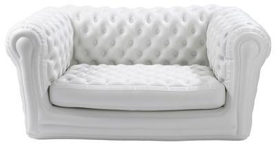 Möbel - Sofas - Big Blo 2 Sofa aufblasbar - 2-Sitzer - Blofield - Weiß - Nylon, PVC
