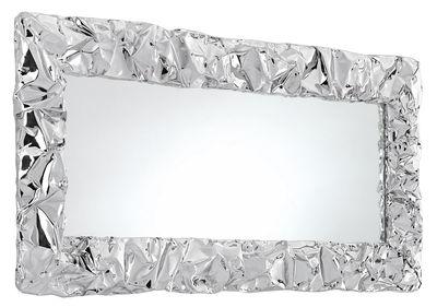 Interni - Specchi - Specchio murale Tabu.U - / 80 x 110 cm di Opinion Ciatti - Cromato - Alluminio