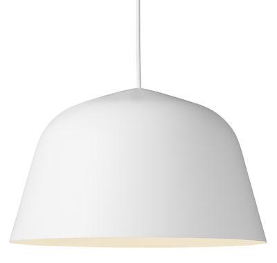 Suspension Ambit / Ø 40 cm - Muuto blanc en métal/tissu