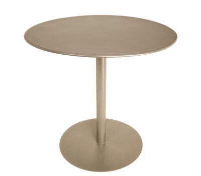 Table FormiTable XS / Métal - Ø 80 cm - Fatboy taupe en métal