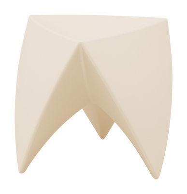 Tabouret empilable Mr. LEM / Plastique - MyYour ivoire en matière plastique