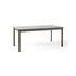 Tavolo con prolunga Patch HW1 - / Laminato Fenix - L 180 a 280 cm di &tradition