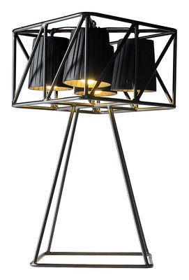 Multilamp Tischleuchte / H 66 cm - Seletti - Schwarz