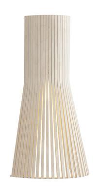 Applique avec prise Secto S / H 45 cm - Secto Design bois naturel en bois
