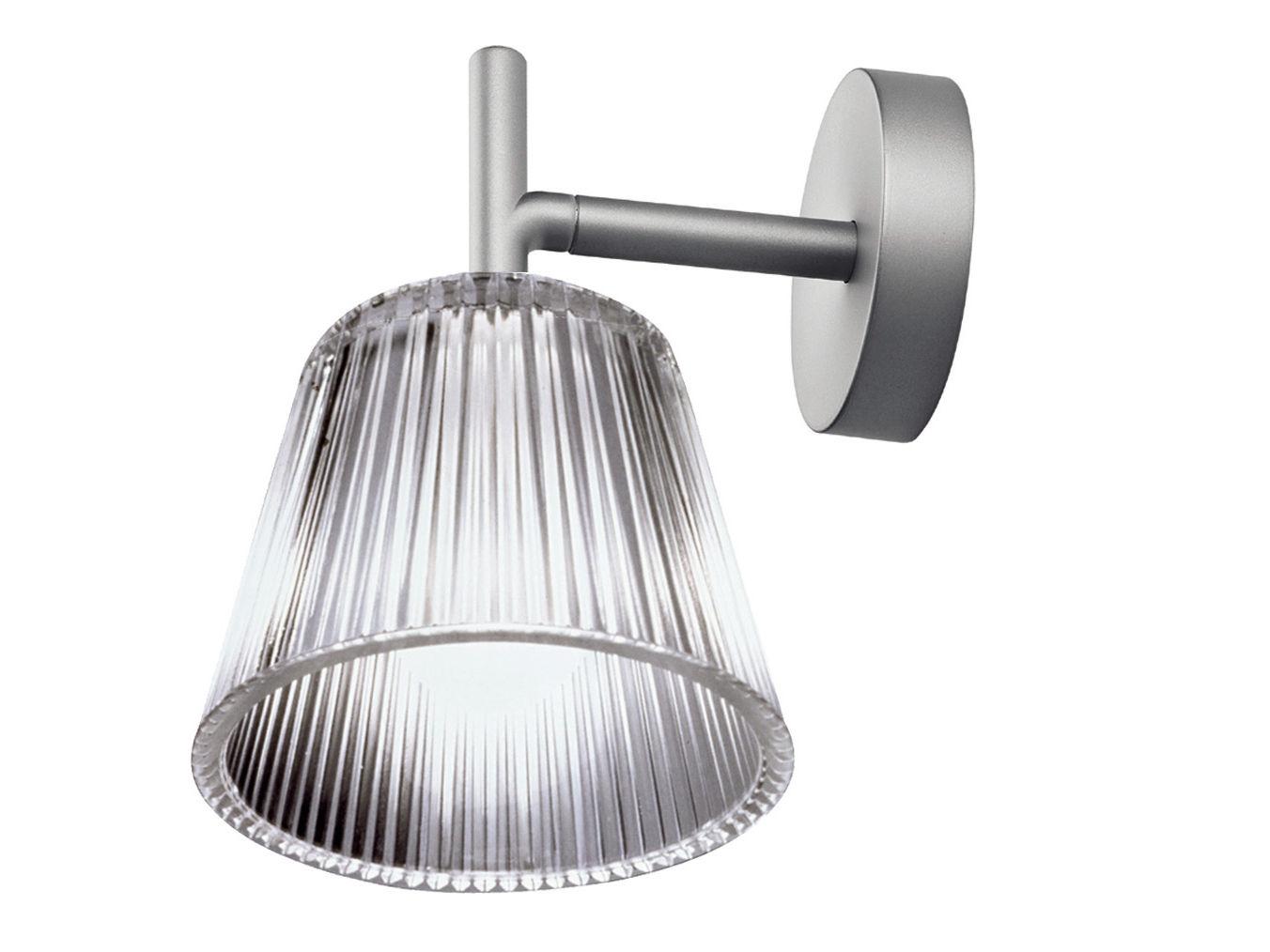 Illuminazione - Lampade da parete - Applique Romeo Babe Glass - versione vetro di Flos - Vetro trasparente - Vetro