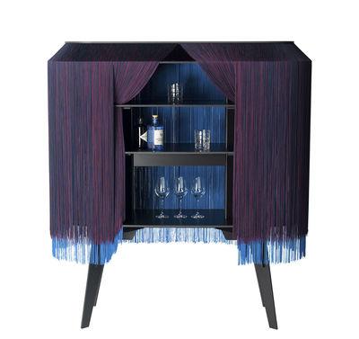 Mobilier - Compléments d'ameublement - Bar Alpaga / Buffet - L 140 x H 150 cm - Edition limitée numérotée - Ibride - Crépuscule / Violet - Stratifié massif, Viscose