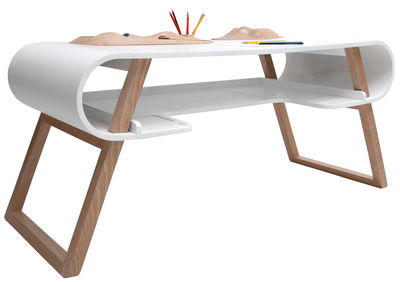 Bureau enfant rubens blanc compagnie made in design