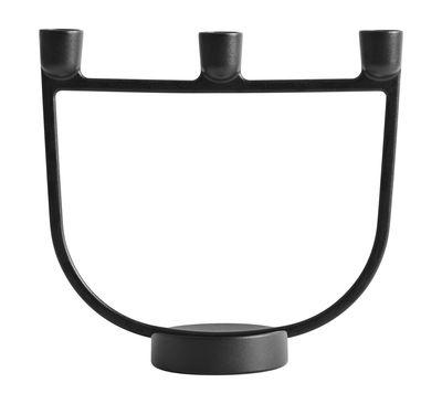 Chandelier Open / Métal - Muuto noir en métal