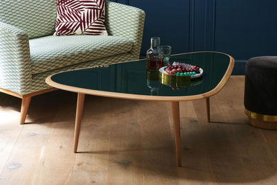 Large Coffee Table 130 X 85 Cm Lacquer By Red Edition