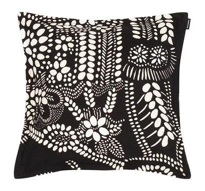 Déco - Coussins - Coussin Näsiä / 40 x 40 cm - Marimekko - Näsiä / Noir & blanc - Coton, Lin