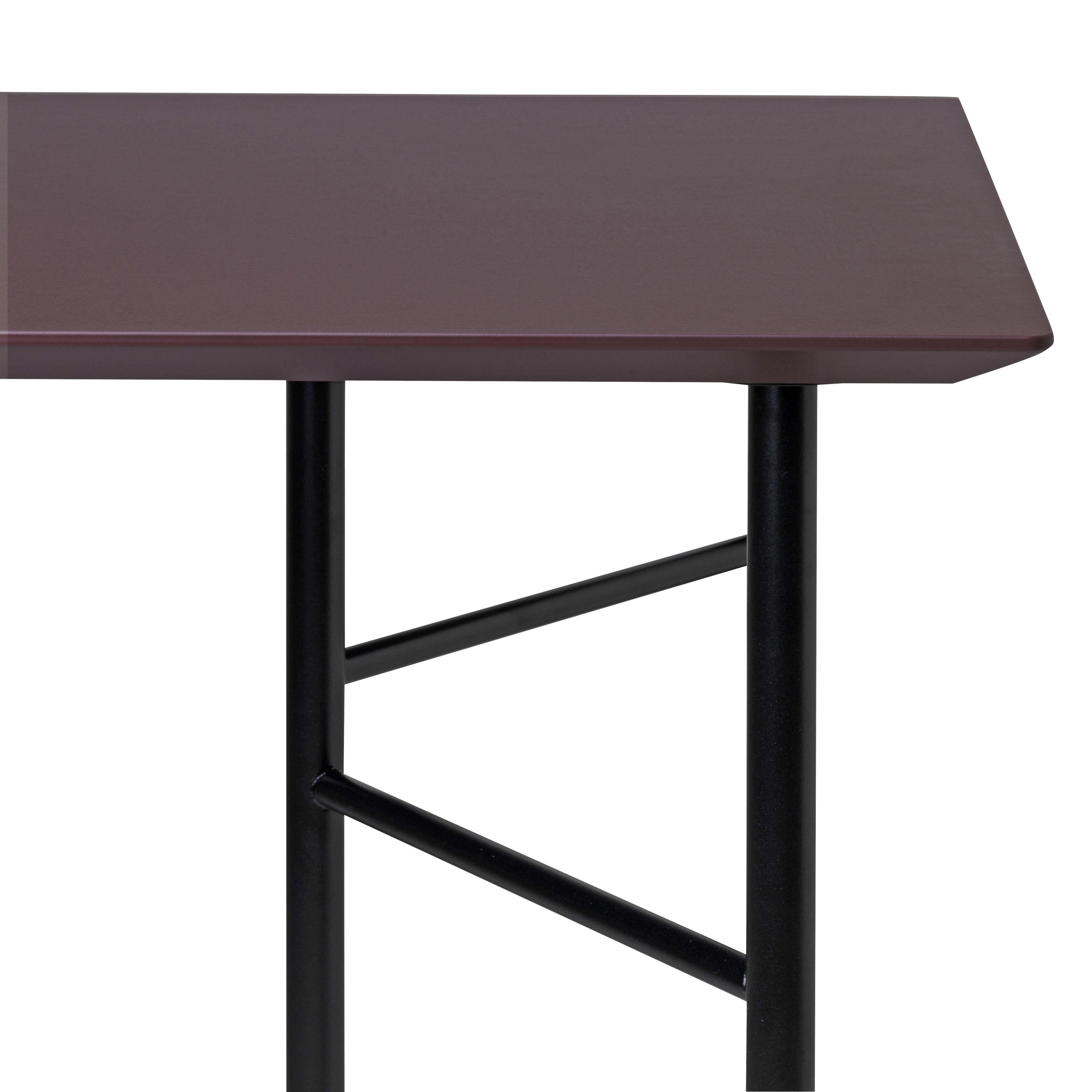 plateau de table pour tr teaux ming large 160 x 90 cm plateau bordeaux ferm living. Black Bedroom Furniture Sets. Home Design Ideas