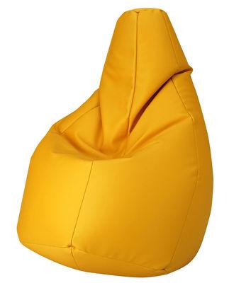 Pouf Sacco Outdoor / Pour l'extérieur - Tissu - Zanotta jaune en tissu