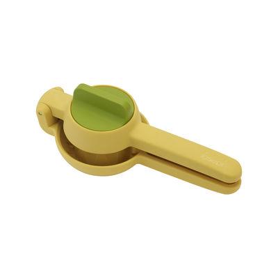 Cucina - Utensili da cucina - Spremiagrumi JuiceMax - / Doppia azione di Joseph Joseph - Giallo verde - Materiale plastico