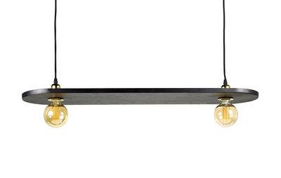 Suspension Essentials n°16 / Bois - L 90 cm - Serax noir en bois