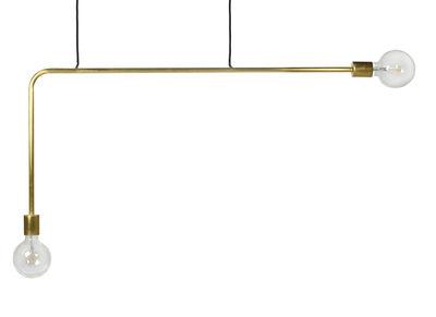 Suspension Essentials n°18-03 / Métal - L 110 x H 55 cm - Serax laiton en métal