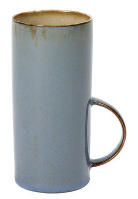 Tasse à thé Terres de rêves / Grès - H 13 cm - Serax gris-bleu en céramique