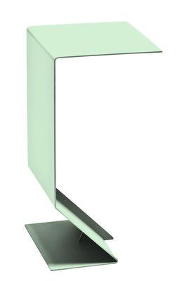 Arredamento - Tavolini  - Tavolino d'appoggio Mark - / L 27  x H 51 cm di Moroso - Verde chiaro - Acciaio verniciato