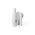 Vaso Paradox Small - / porcellana - H 17 cm di Jonathan Adler