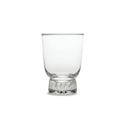 Arts de la table - Verres  - Verre à vin blanc Feast / 25 cl - Serax - Traits / Sablé - Verre