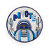Druggist Coaster Ablage / 4er-Set - Porzellan & goldfarben - Jonathan Adler