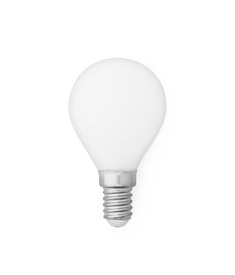 Ampoule LED E14 Standard / 2W - 160 lumen - Normann Copenhagen blanc en verre