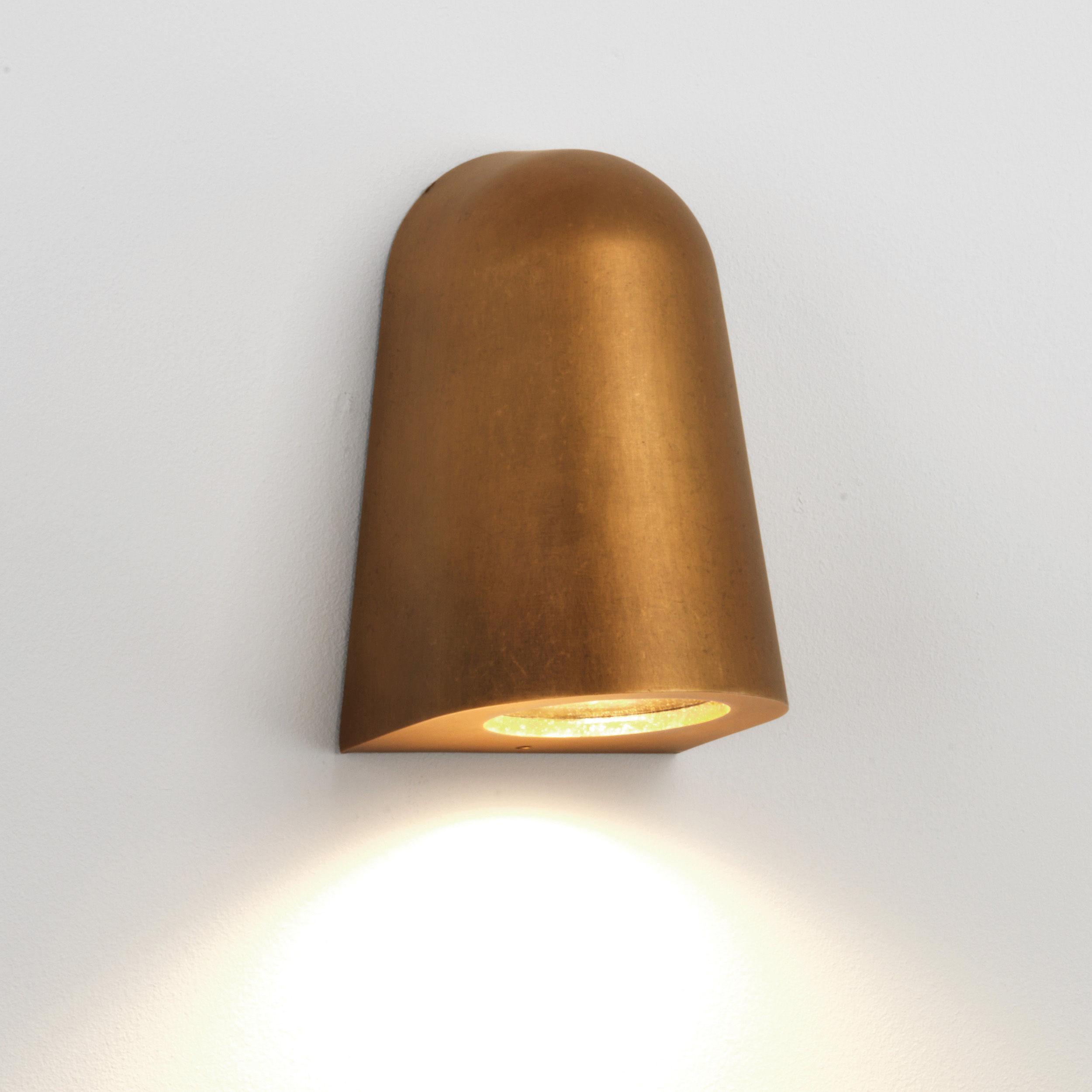 Luminaire - Appliques - Applique Mast Light / Métal - Astro Lighting - Laiton vieilli - Aluminium