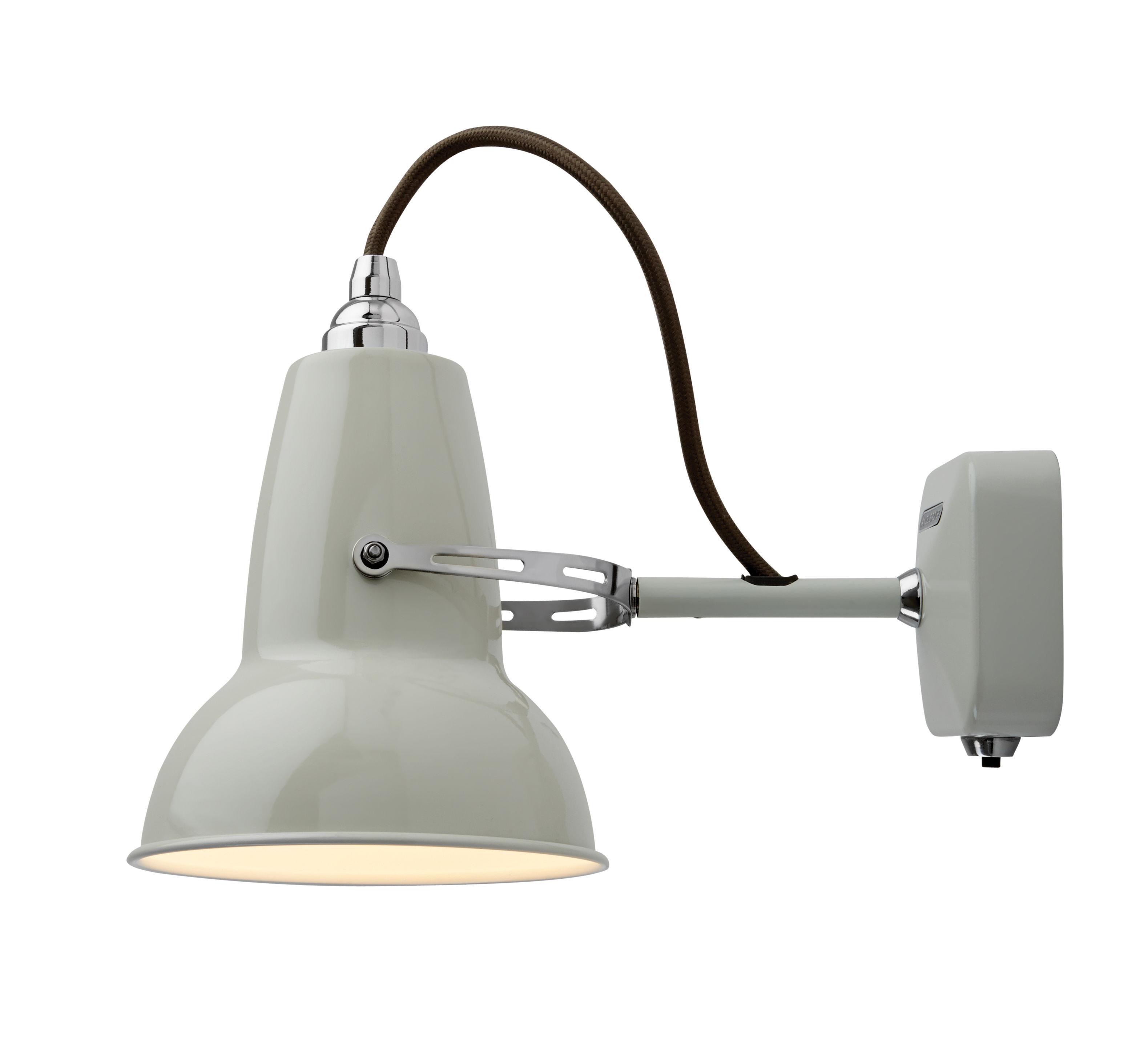 Illuminazione - Lampade da parete - Applique Original 1227 Mini - Anglepoise - Bianco lino - Acciaio, Ghisa di alluminio