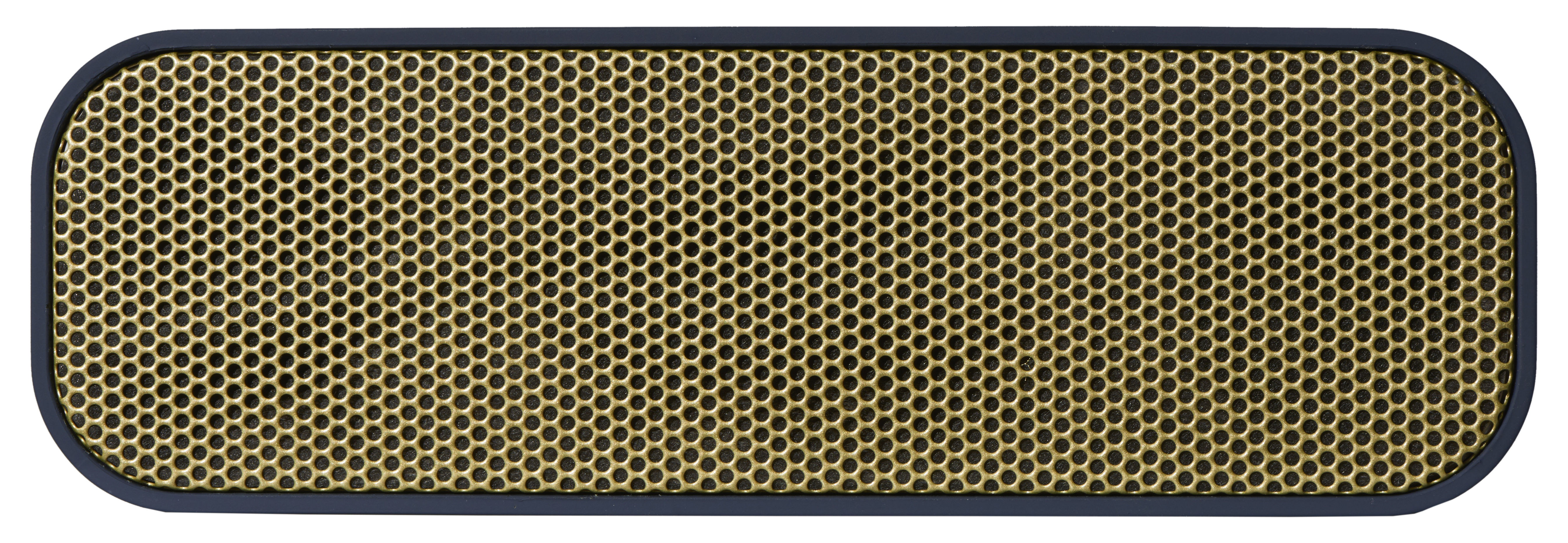 Trends - Home sweet home - aGROOVE Bluetooth speaker - Wireless by Kreafunk - Blue & Gold - Plastic material