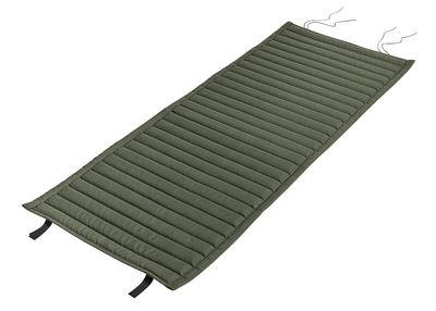 Coussin intégral / Pour fauteuil bas Palissade avec dossier bas - Hay vert en tissu