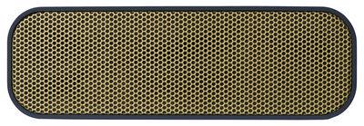 Accessoires - Enceintes audio & son - Enceinte Bluetooth aGROOVE / Portable sans fil - Kreafunk - Bleu / Or - Matière plastique