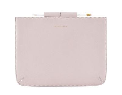 Accessori moda - High-tech  - Custodia per tablet Monograph / iPad - Cuoio - House Doctor - Rosa - Pelle