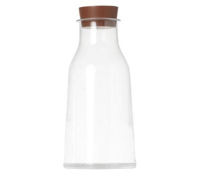 Tischkultur - Karaffen - Tonale Karaffe - Alessi - Transparent - mit Silikonkorken - Glas, Silikon