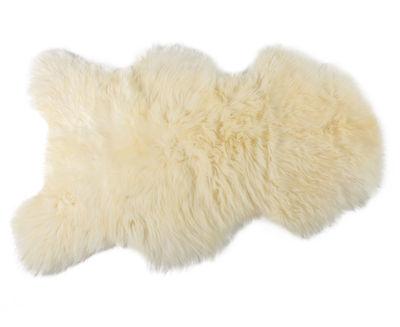 Déco - Tapis - Peau de mouton One Moumoute /Poils courts - 65 x 110 cm - FAB design - Poils courts / Blanc naturel - Peau de mouton
