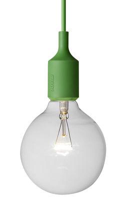 Lighting - Pendant Lighting - E27 Pendant by Muuto - Green - Silicone
