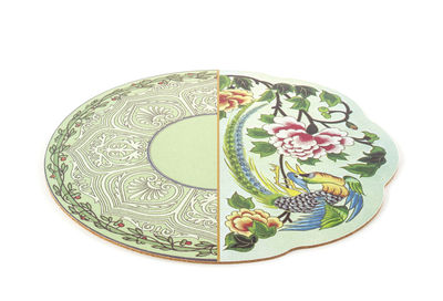 Tableware - Napkins & Tablecloths - Hybrid Teodora Placemat - / Ø 37 cm by Seletti - Teodora - Cork, PVC