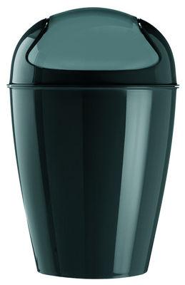 Poubelle Del S / H 37 cm - 5 Litres - Koziol noir en matière plastique