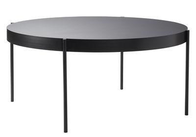 Trends - Bitte Platz nehmen! - Series 430 Runder Tisch / Ø 160 cm - Tischplatte Fenix-NTM® - Verpan - Schwarz - Fenix-NTM®, geschichtet, Holzfaserplatte, lackierter Stahl