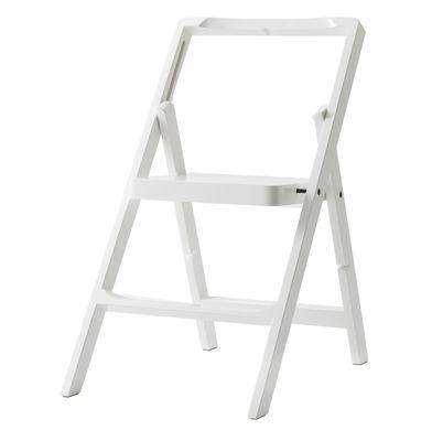 Scaletta Mini Step / H 45 cm - Sedia pieghevole - Design House Stockholm - Bianco - Legno