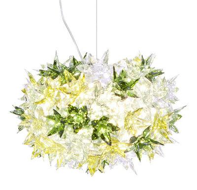 Suspension Bloom Bouquet / Small Ø 28 cm - Kartell menthe en matière plastique