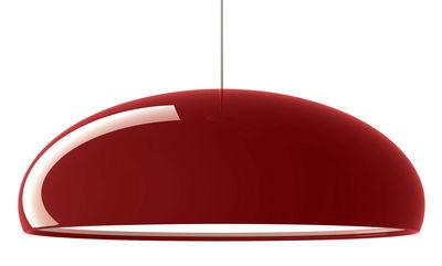 Suspension Pangen - Fontana Arte blanc,rouge en métal