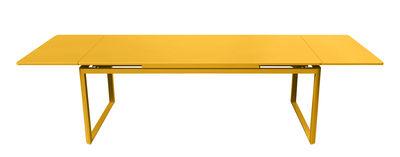 Table à rallonge Biarritz / L 200 à 300 cm - Fermob miel en métal