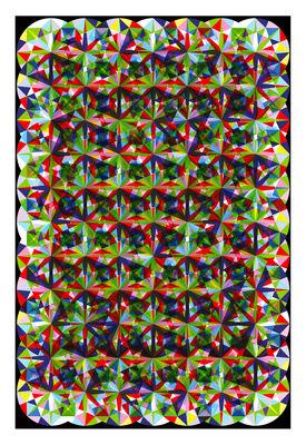 Tapis Zircon / 300 x 200 cm - Moooi Carpets multicolore en tissu