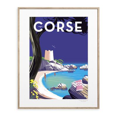 Déco - Stickers, papiers peints & posters - Affiche Monsieur Z - Corse / 40 x 50 cm - Image Republic - Corse - Papier mat