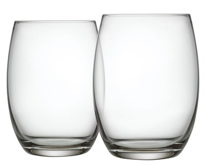 Tavola - Bicchieri  - Bicchiere da long drink Mami XL - / Set da 4 di Alessi - Trasparente - Vetro cristallino